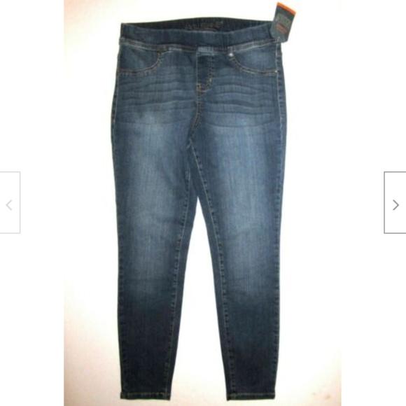 Jag Jeans Denim - JAG JEANS NWT Pull On LEGGINGS Jeans M Medium Wash
